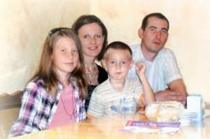 Bartek z rodziną